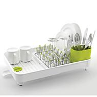 1 キッチン プラスチック フラットウェアオーガナイザ