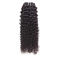 Natural Color Hair Weaves Curly 3 Months hair weaves