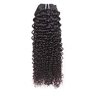 """טווה שיער אדם מתולתל שלושה חודשים שוזרת שיער ק""""ג תוספות שיער מהירות"""