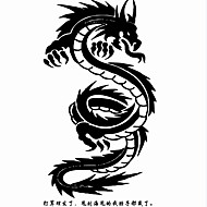 Tatuagens Adesivas Séries de Jóias Séries Animal Série Florida Séries Totem Outros Série Olímpico Série dos desenhos animados Série