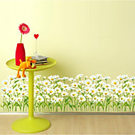 Blomstret Tapet til Hjemmet Tapetsering , PVC/Vinyl Materiale Selvklebende bakgrunns , Tapet