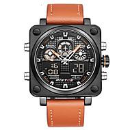 billige Militærur-Herre Quartz Digital Watch / Militærur / Sportsur Japansk Alarm / Kalender / Kronograf / Vandafvisende / Kreativ / Stor urskive / Punk /