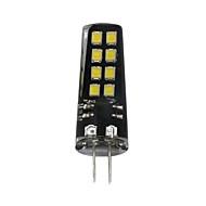 billige Bi-pin lamper med LED-1pc 3W 200lm G4 LED-lamper med G-sokkel T 16 LED perler SMD 2835 Dekorativ Varm hvit Hvit 12V