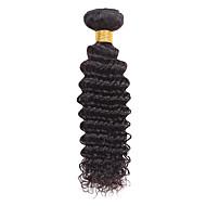 """טווה שיער אדם גל עמוק שלושה חודשים שוזרת שיער ק""""ג תוספות שיער מהירות"""