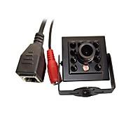 billige Innendørs IP Nettverkskameraer-720p 1.0mp onvif cctv ip kamera hi3518e ir nattesyn 1/4 h62 cmos mini 940nm 10pcs leds