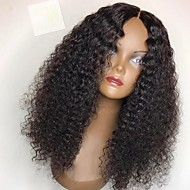 Women Human Hair Lace Wig Brazilian Remy Full Lace Glueless Full Lace 180% 150% 130% Density With Baby Hair Kinky Curly Wig Medium Brown