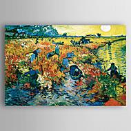Peint à la main Paysage Format Horizontal,Nouvelle arrivee Un Panneau Toile Peinture à l'huile Hang-peint For Décoration d'intérieur