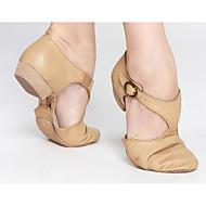 """billige Jazz-sko-Dame Lær Høye hæler Trening Svart Brun Rosa Under 1 """""""