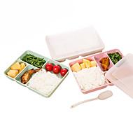 חיטה, קש, פלסטיק, כלי שולחן, ארוחת צהריים, bento, קופסה, אוכל, מכולה, מכולה, ארוחת צהריים, תיבות
