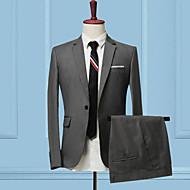 odijela Muškarci Jednobojni Slim Kolaž