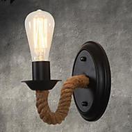 billige Vegglamper-Vintage / Land Vegglamper Metall Vegglampe 110-120V / 220-240V 40W