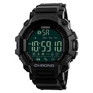 tanie Inteligentne zegarki-Inteligentny zegarek Wodoszczelny Spalone kalorie Krokomierze Śledzenie odległości Informacje Obsługa aparatu Budzik Dwie strefy czasowe