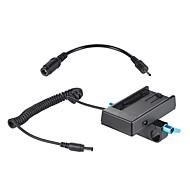 andoer camera pentru baterii montare placa adaptor de alimentare cu clemă 15mm pentru bmcc bmpcc pentru sony f970 f950 acumulator