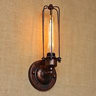 tanie Kinkiety Ścienne-Prosty Vintage Retro Kraj Lampy ścienne Na Metal Światło ścienne 110-120V 220-240V 40W