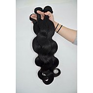 Natural Color Hair Weaves Brazilian Texture Body Wave 12 Months 3 Pieces hair weaves