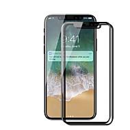זכוכית מחוסמת מגן מסך ל Apple iPhone X מגן מסך קדמי קשיחות 9H נוגד טביעות אצבעות