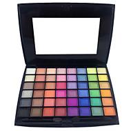 billiga Ögonskuggor-48 färger Ögonskuggor / Puder Öga Halloweenmakeup / Festmakeup / Sotig makeup Smink Kosmetisk / Matt / Skimmrig