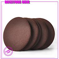 144pcs / lot5mm חד פעמי ניילון בלתי נראה שיער 20d שחור שחור כהה חום בינוני חום בהיר בצבע בז '