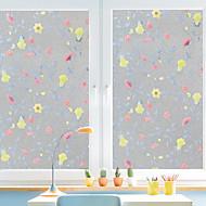 tanie -Drzewa/Listki Naklejka okienna,PVC/Vinyl Materiał Dekoracja okna