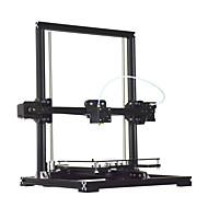 tronxy×3デスクトップ高精度液晶画面3Dプリンタキット -  EUは黒のプラグイン