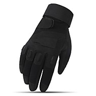 hesapli -Aktivite / Spor Eldivenleri Bisiklet Eldivenleri Giyilebilir Koruyucu Uzun Parmak Kumaş Bisiklete biniciliği / Bisiklet Unisex