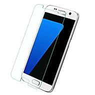 זכוכית מחוסמת מגן מסך ל Samsung Galaxy S7 מגן מסך קדמי (HD) ניגודיות גבוהה קשיחות 9H קצה מעוגל 2.5D