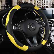 Prekrivači za upravljač 38cm Burgundac / žuta / Bijela For Chevrolet Aveo / Cruze / Epica