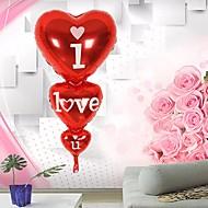 folie ballon hart vorm ik hou van je verjaardag huwelijksverjaardag helium decor