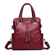 Women Bags All Seasons PU Backpack Zipper for Casual Blue Black Bronze Wine