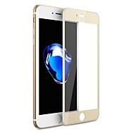 Karkaistu lasi Näytönsuojat varten Apple iPhone 7 Näytönsuoja Teräväpiirto (HD) 9H kovuus Naarmunkestävä Tahraantumaton 3D pyöristetty