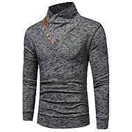 Muškarci Veći konfekcijski brojevi Duga Sportska majica Jednobojni