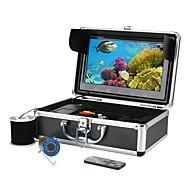 billige Overvåkningskameraer-10 tommers fargeskjerm 30m hd 1000tvl undervannsfiske videokamera sett 12 stk infrarød lampe lys