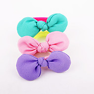 Children 's Fruit Rabbit Ear Butterfly Head Flower Hairband Leggings Hair Strap 10pcs