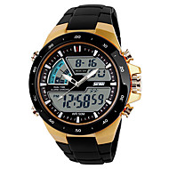 SKMEI Men's Sport Watch Digital Watch Casual Watch Digital Plastic Band Black