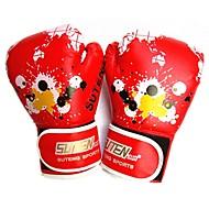 Boxhandschuhe für das Training für Boxen Vollfinger warm halten Atmungsaktiv Leicht Schützend Leder
