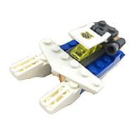 조립식 블럭 평면 장난감 비행기 1 조각