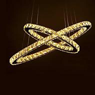 billige Taklamper-2-Light Krystall Takplafond Omgivelseslys - Krystall, Anti-refleksjon, 110-120V / 220-240V, Varm Hvit, LED lyskilde inkludert / 5-10㎡ / Integrert LED