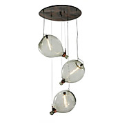Country Traditional/Classic Retro Chandelier For Living Room Indoors Shops/Cafes 220V-240V 110-120V Bulb Not Included