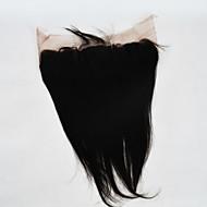 billige -13x4 blonder frontal lukking rett menneskelig hår lukning for kvinner