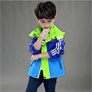 男の子 カラーブロック ジャケット&コート ブルー オレンジ イエロー