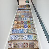 Kuuluisa Maisema 3D Wall Tarrat Lentokone-seinätarrat 3D-seinätarrat Koriste-seinätarrat 3D,Paperi materiaali Kodinsisustus Seinätarra