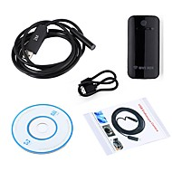 10MM Lens WIFI Endoscope Camera Snake Inspection Borescope 2M Length Cable Waterproof IP67 USB Android IOS PC Wireless Cam