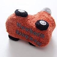 赤ちゃん 靴 フェザー/ファー 秋 冬 コンフォートシューズ ブーツ ブーティー/アンクルブーツ 用途 カジュアル オレンジ グレー グリーン ブルー カーキ色