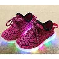Meisjes Schoenen Tricot Herfst Winter Comfortabel Sneakers Voor Causaal Zwart Rood Groen Blauw