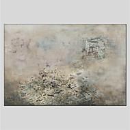 Ručno oslikana Sažetak Sažetak Jedna ploha Platno Hang oslikana uljanim bojama For Početna Dekoracija