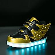 tanie Obuwie chłopięce-Dla chłopców Buty Syntetyczny Zima Jesień Świecące buty Comfort Tenisówki Wzór zwierzęcy LED Haczyk i pętelka na Casual Na wolnym