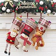 preiswerte Weihnachtsdeko-1pc Landschaft Häuser Strümpfe Verzierungen Urlaub, Urlaubsdekoration Feiertags-Verzierungen