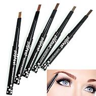 Eyeliners Øjenbryn Pudder Indeholder ikke ammoniak Indeholder ikke formaldehyd Makeup Dame Øjne Daglig Tør Mat Kombination Vandtæt Længerevarende Naturlig 5 Kosmetiske Plejemidler