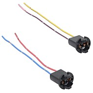 2x T10 168 194 501 W5W Car LED SMD Light Wire Harness holder Connector Extension