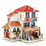 3D puzzle Modele Hračky Architektura domky 1 Pieces